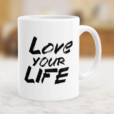 Love Your Life - Kubek